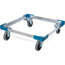 Carlisle Opticlean Open Aluminum Dolly, No Handle 20-3/4