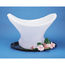 Carlisle Ice Sculptures Basket - White CFSSBA102CS