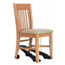 ComforTek Titan Wood Chair w/Royal-EZ Attachment CTT501-18-70-5056-REZ