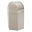 Commercial Zone Products 45-Gallon Hexagon Waste Container with Dome Lid CZP73790299
