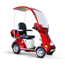 EWheels (EW-54) 4-Wheel Full Covered Scooter w/ Electromagnetic Brakes EWHEW-54R
