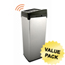 iTouchless 14 Gal. Automatic Stainless Steel Touchless Trash Can® SX ITOIT14SCCS
