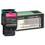 Lexmark Lexmark C540H1MG High-Yield Toner, 2000 Page-Yield, Magenta LEXC540H1MG