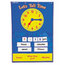 Learning Resources Learning Resources® Teaching Time Pocket Chart LRNLER2991