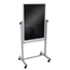 Luxor Double-Sided Mobile Black Board 30