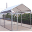 Rhino Shelter Dog Kennel With Canopy 7.5'W x 13'L x 6'H MDMKENNEL6