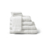 Medline Premium 100% Cotton Ring Spun Terry Bath Towels, White, 22