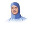 Medline Surgeons Head Covers MEDNONSH100C