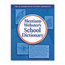 Merriam Webster Merriam Webster School Dictionary MER80