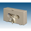 Plasti-Products Glove Box Dispenser Horizontal or Vertical Mount 1-Box Beige 4 X 7 X 11-3/4 Inch Plastic MON12101300