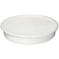Sammons Preston Divided Dish White Polypropylene 10 Diameter X 1 3/4 H Inch Dish, 7/8 H Inch Section Dividers MON14364000