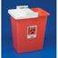Medtronic SharpSafety™ Sharps Container Slide Lid, Red 8 Gallon MON88902800