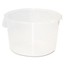 Rubbermaid Commercial Round Storage Containers RCP5726-24CLE