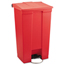 Rubbermaid Commercial Indoor Utility Step-On Waste Container RCP6146RED
