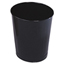 Rubbermaid Commercial Rubbermaid® Commercial Fire-Safe Steel Round Wastebaskets RCPWB26BK