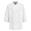 Chef Designs Men's 8 Knot Button Chef Coat UNF0411WH-RG-XL