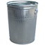 Witt Industries Light Duty Galvanized Metal Receptacle WITWCD32C