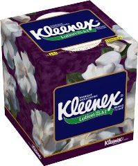 KLEENEX® Facial Tissue with Lotion