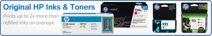 Original HP Inks & Toners