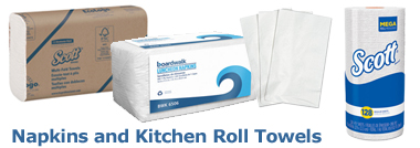 Napkins and Kitchen Roll Towels