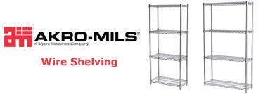 akromils shelving