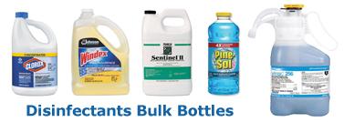 Disinfectants Bulk Bottles