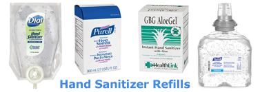 Hand Sanitizer Refills