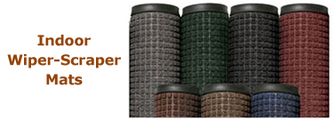 Indoor Wiper Scraper Mats
