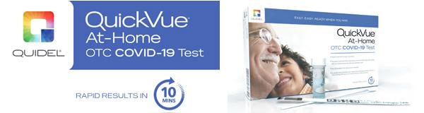 Quidel QuickVue Covid-19 Rapid Test At-Home Kit