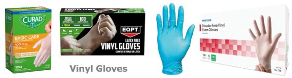 vinyle gloves