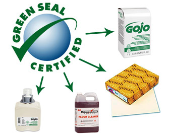 Click Here to Shop all GreenSeal Certified Products
