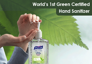 Green Certified Hand Sanitizers