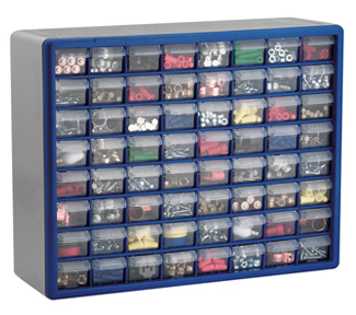 Akro-Mils Hardware & Craft Storage Organizers