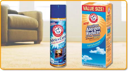 Carpet & Fabric Deodorizers
