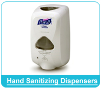 Hand Sanitizing Dispensers