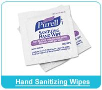 Hand Sanitizing Wipes
