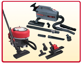 Oreck Commercial Canister Vacuums
