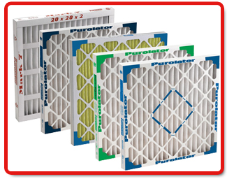 Purolator Pleated Filters