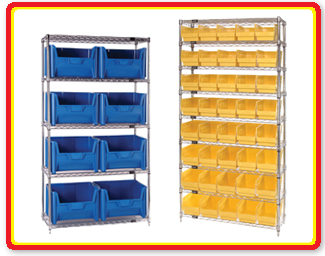 Quantum Storage Systems - Wire Shelving Units
