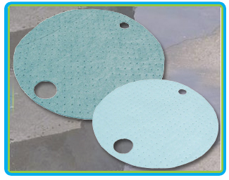 TaskBrand Sorbent Drum Covers
