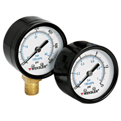 ORS006-UA25J4L - WekslerDry Gauges w/Steel Case