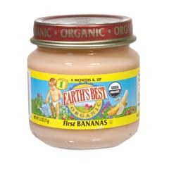 BFG66406 - Earth's Best1st Bananas