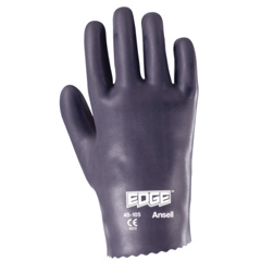 ANS012-40-105-8.5 - Ansell - Edge Nitrile Gloves, Slip-On Cuff, Interlock Knit Lined, Size 8.5