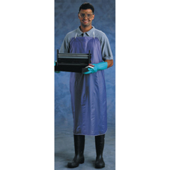 ANS012-56-001-33X44 - Ansell - CPP Vinyl Apron, 8 Mil, 33 In X 44 In, Blue