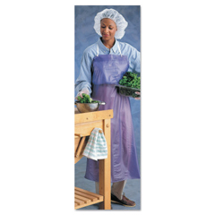 ANS012-56-009-33X54 - AnsellCPP Vinyl Aprons, 6 Mil, 33 In X 54 In, Blue