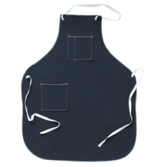 ANS012-57-004-28X36 - Ansell - CPP Shop Aprons, 28 In X 36 In, Denim, Blue