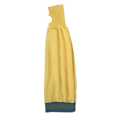 ANS012-59-408-22IN - AnsellAssembler 100 Sleeves, 22 In Long, Elastic Band Closure, Yellow