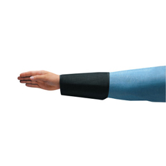ANS012-59-801-8 - Ansell - Cane Mesh Sleeves, 8 In Long, Velcro Closure, Black
