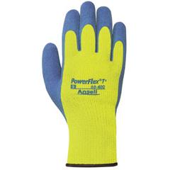 ASL012-80-400-10 - AnsellPowerFlex® T Hi Viz Yellow™ Gloves