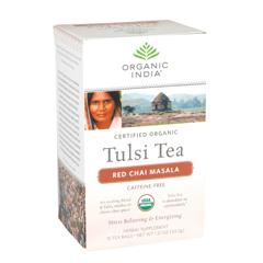 BFG38285 - Organic IndiaTulsi Red Chai Masala Tea